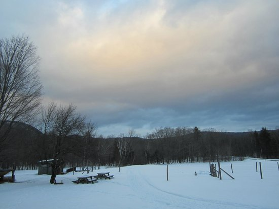Claybrook Mountain Lodge : view from the Lodge  porch