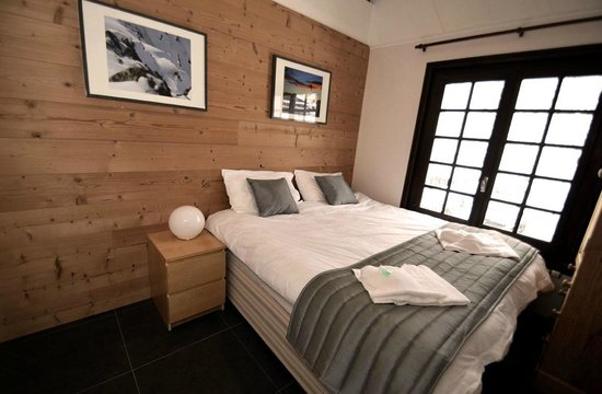 Chamonix Lodge: Ensuite double bedroom
