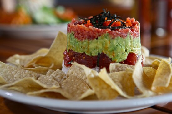 Uncle's Fish Market & Grill: Uncle's Original Poke Tower