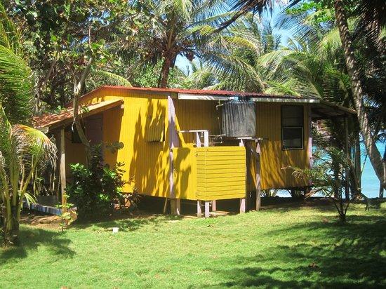 Casa Iguana:                   Grand Casita #1 with view of outdoor shower                 