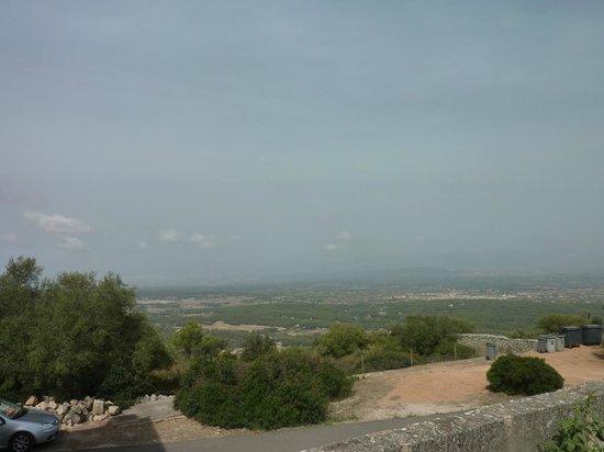 Santuari de Cura:                   View to the Mountains
