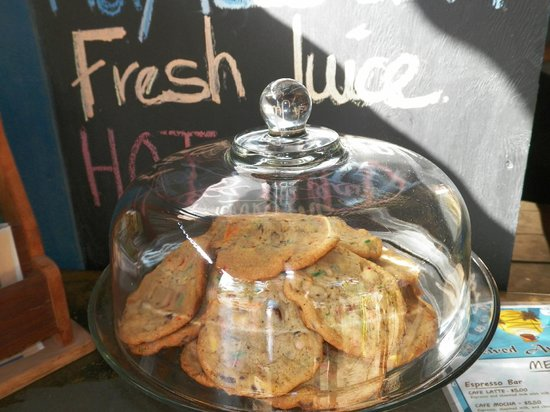 Brewed Awakenings:                                     Fresh Baked Goods