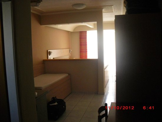 Zante Plaza Hotel & Apartments:                   room view from door                 