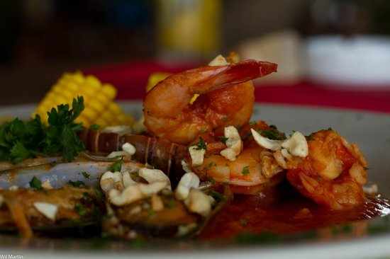 Pili's Kitchen - Camino del Gigante: Sea Food Skyllet