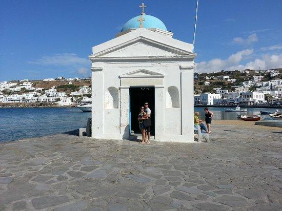Myconian Ambassador Relais & Chateaux Hotel:                   Mykonos