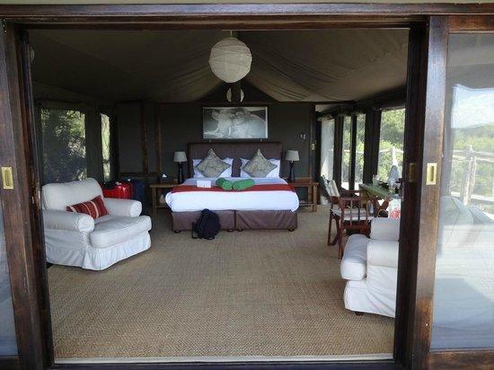 HillsNek Safaris, Amakhala Game Reserve:                   Chalet