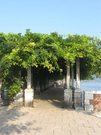 Hotel Giardino:                   passeggiata sul lungolago!