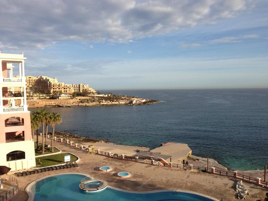 The Westin Dragonara Resort, Malta:                   The view from my room