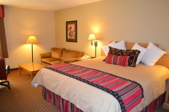 Hampton Inn Kayenta: Super comfy beds