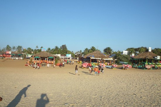 Baga beach near Brittos