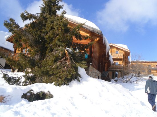 Chalet Viking :                                     Front