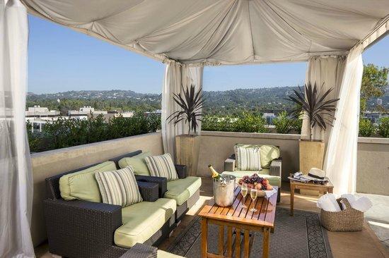 Viceroy L'Ermitage Beverly Hills: Cabana