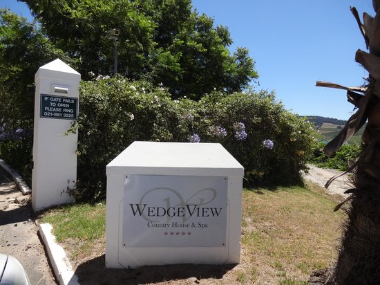 WedgeView Country House & Spa :                   Eingang