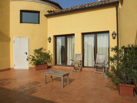 Best Western Premier Hotel Sant'Elena:                   private room patio/terrace/balcony