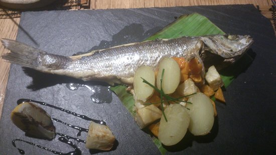 The Jolly Fisherman Pub:                   Seabass