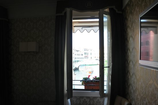 Hotel Moresco:                   View from window