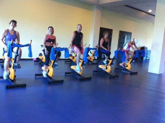 Majestic Elegance Punta Cana:                   Spin Class with Elsa!