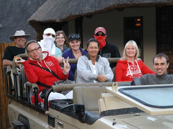 The Vuyani Safari Lodge:                   Game Drive at Vuyani Lodge