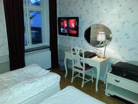 Stadshotellet : View from bed