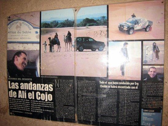 Atlas du Sable: Detalle recepción