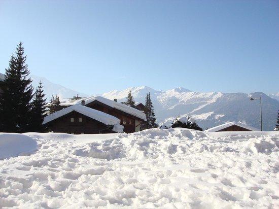 La Cordée des Alpes : View from room
