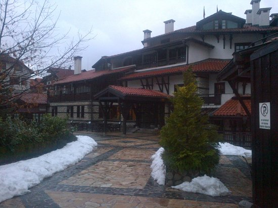 Hotel Tanne: front of the hotel