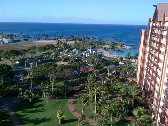 Aulani, a Disney Resort & Spa:                   Au'lani, view from our 14th floor 1 -bedroom villa
