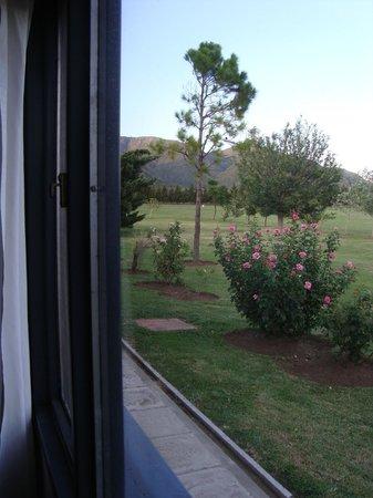 Hotel Lujan:                   vista desde la habitación
