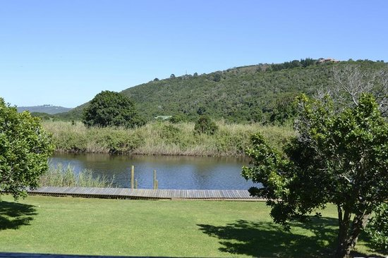 SANParks - Wilderness National Park - Forest Cabins: Blick aus der Forest Cabin auf den Fluss