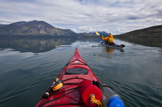 Each of the Yukon's 70 wild rivers is unique and offers canoeing and kayaking