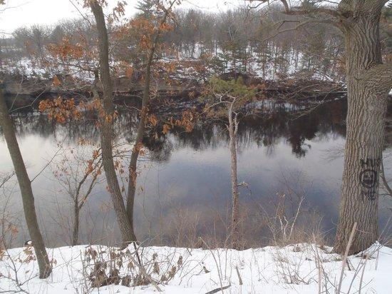 Montello Granite Park:                                                       Upper Dells, Wisconsin River Where We Used