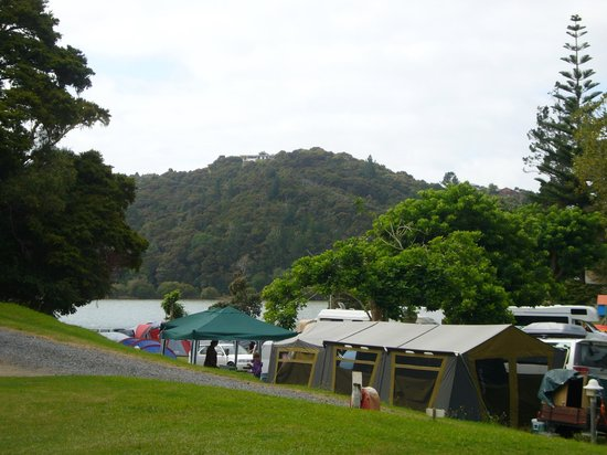 Paihia TOP 10:                                     view from the cabin