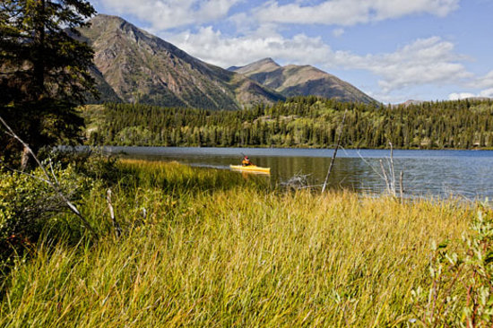 Yukon's waters are untouched and unspoiled.