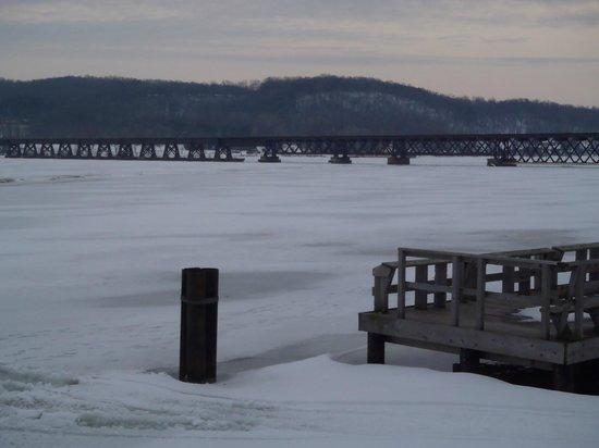 Montello, WI: Bridge Over Lake Wisconsin Where An ATV &