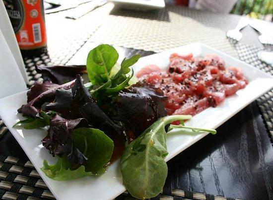 Taste Restaurant at Casa Cupula: Tiradito de atún