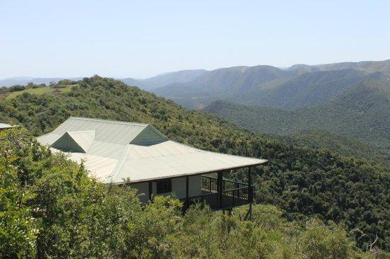 Camp Figtree: Großzügige Luxus Suite mit traumhafter Aussicht