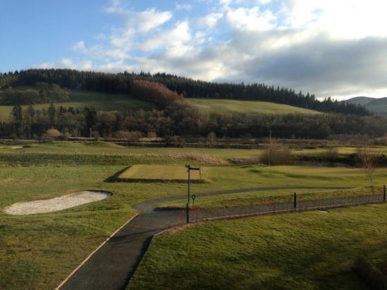 Macdonald Cardrona Hotel, Golf & Spa: golf course view