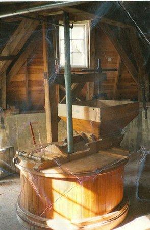 Danish Windmill Museum: Mill stones