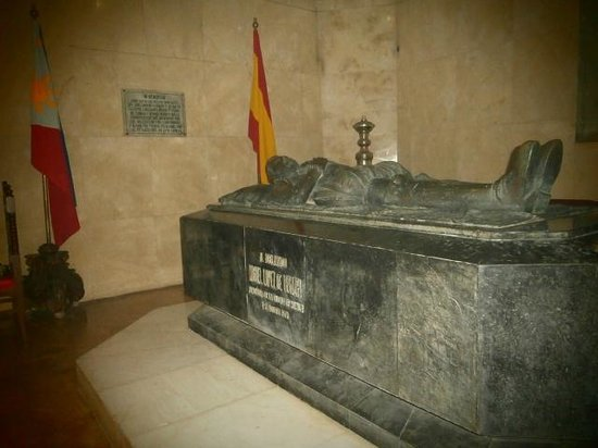 Baroque Churches of the Philippines:                   San Agustin - Intramuros: the sepulchre of the founder of Manila.