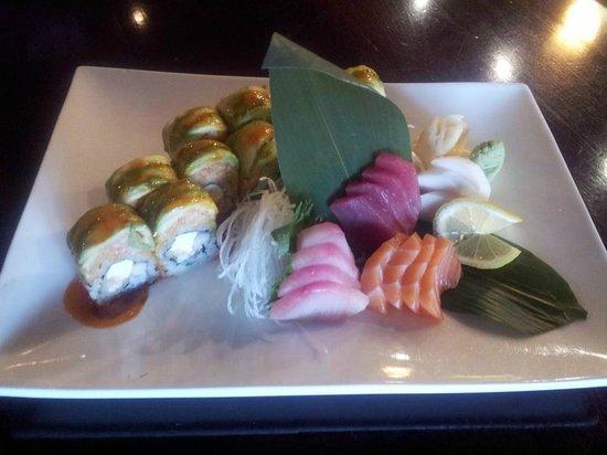 Sora Japanese Restaurant:                   Sashimi Combo