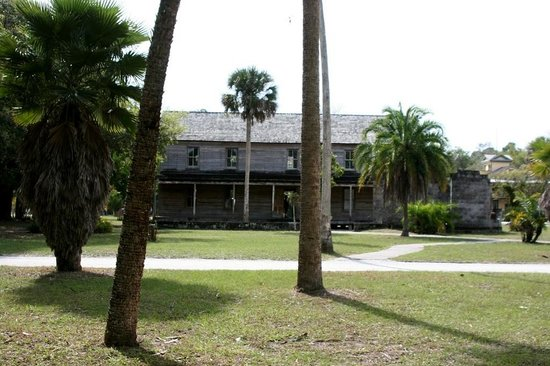 Koreshan State Historic Site:                   One of the many Koreshan Settlement buildings