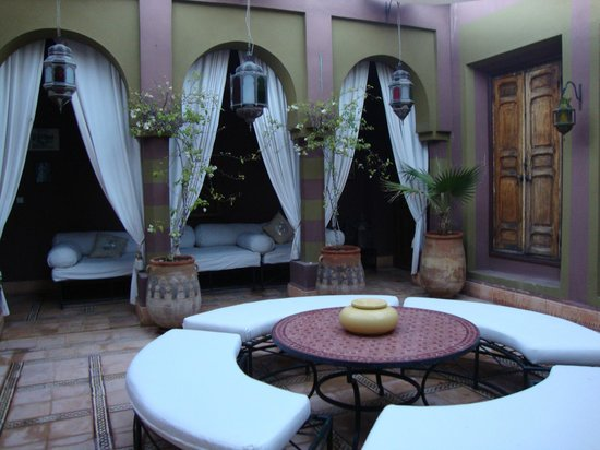 Dar Ayniwen Villa Hotel:                   Terrace