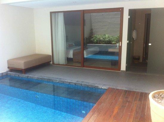 ذا ماجاني هوتل آند سبا:                   view from our pool.                 