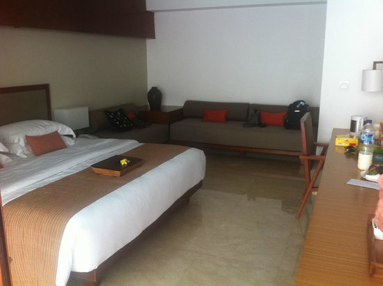 The Magani Hotel and Spa:                   room was smallish but all you needed.