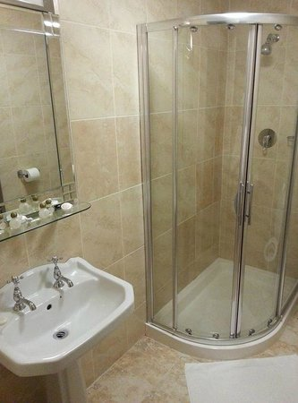 The Ashbrook Arms Restaurant and Guesthouse:                   Bathroom