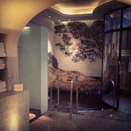 Grand Hotel:                   Damernas omklädningsrum (spat)