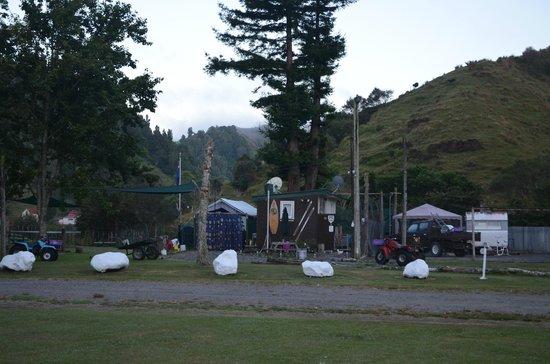 Whangamomona Campground:                   Whangamomona Campsite