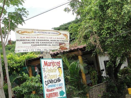 El Potrero de Chavez:                   Otra foto de afuera