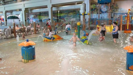 ‪‪Great Wolf Lodge Water Park‬: The small children's area. You must stay in there with little ones.‬