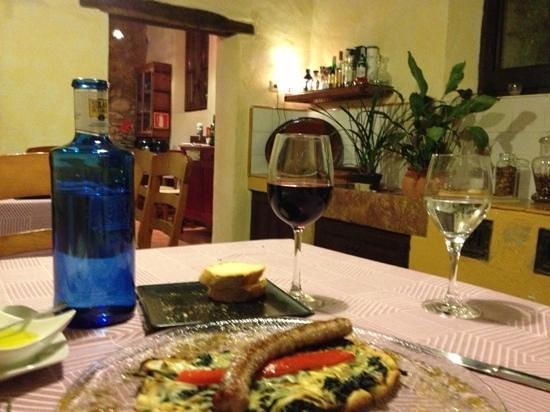 Hostal del Castell de Gimenelles:                   unbelievable dinner